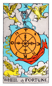 Tarot Miranda Rider Waite Wheel of fortune
